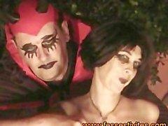 Halloween Shibari