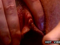 Close Up Pussy Cumming
