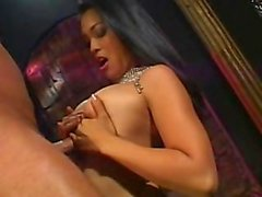 Asian Babe gives the best massage