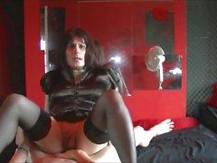 Maria Satin's - Hot Satin Fun Part 4