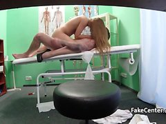 Nurse massaged and fucked patient