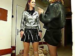 Glam slut piss gets drenched