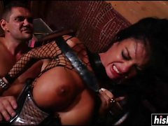 Angelina Valentine gets drilled in hardcore fashion
