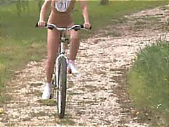 Porn Olympics Bicycle Race