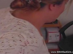 Spanking with BBW Ass