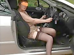 I love muck stocking in the car.......