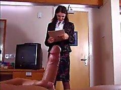 British Slut saa munaahotellihuoneessa