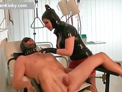 Dirty Carmen in exciting latex stuffing part6