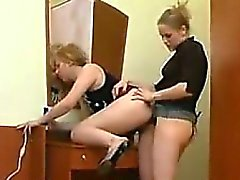 Russe Lesbienne Having Fun