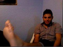 Heterosexuales pies en la webcam # ciento noventa y cuatro