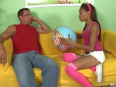 Teen Latina Gets Fucked For Good