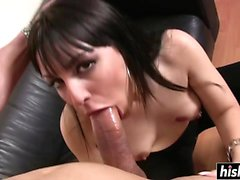 Mara Lopez swallowed a huge cumload