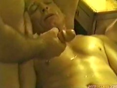 Men At A Motel Masturbating