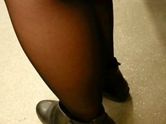 Candid Legs in Subway (for Real Voyeur Lovers)
