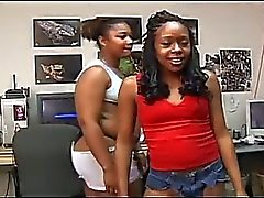 Cumswapping headliners 6 the two ebony sucks one white dicks
