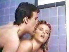 Ginger Lynn steamy shower blonde classic