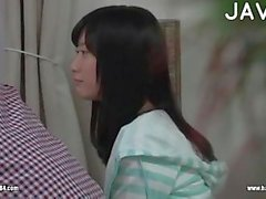 Hot Asian Chick Making Out