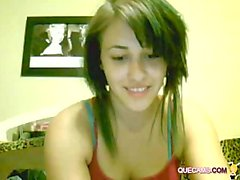Cute Girl Perform Webcam - Session 6034
