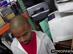 Hetero keikari homo kolmen kimppa myymälän