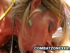 Kristal Summers - blondin bimboen få knullade af en gammal Rynkad Oklippt