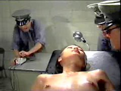 Very hard asian electro torture