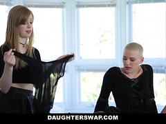 DaughterSwap Gothic Sluts Fucked By BFFS dad part 1