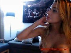 Hot latina cam model naked live on cam site