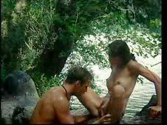 Tarzan de Jane le da un plátano