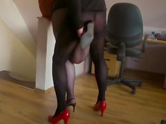 Horny Fuck in Slingbacks