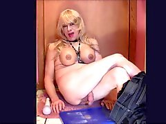 AllyCDTV Cums With a Wand Vibrator