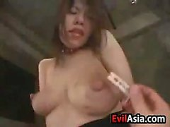 Asian Slut Gets Breasts Milked