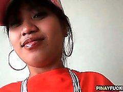Da filipina Bargirl obtiver lambia e fodeu