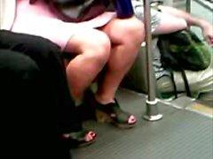 High Heels Slingback Sandals