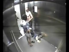 couple gets busted fucking in work elevator