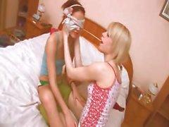 hungarian girl getting kinky with girl