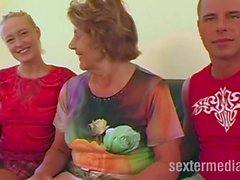 Sex mit reifer Omafotze