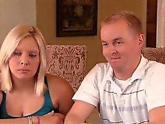 Coppia amatoriale oscillante Darell e Nikki