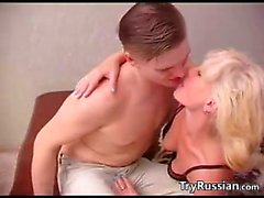 Mature Blonde Russian Woman Wants Young Cock