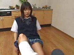 Asian school socks
