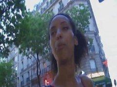 ebony francaise prise en POV