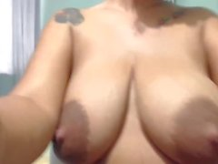LatinaLunaHot's Amazing Lactating Columbian Tits Dripping Milk & A utoLeaking