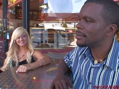 18 year old Chloe Chanel gets ravaged by 2 black guys