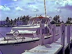 Hot Wild Naked Girls Yacht Party (1960s Vintage)