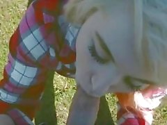 Fucking In The Park Leads To Accidental Creampie