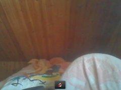 Jeune fille nue sur webcam