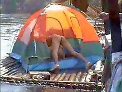 Thai Guys Nude on a River