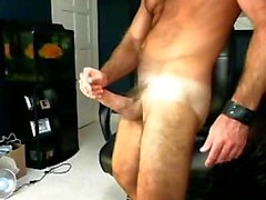 Brent Sterling Cums on his Own Face