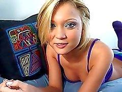 Cute gf Dakota Skye first time anal sex