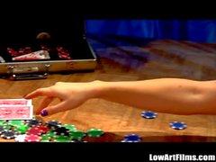 Ann Marie Rios Lesbian Strip Poker Pussy Licking