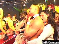 At the club every kind of woman is represented. White,...